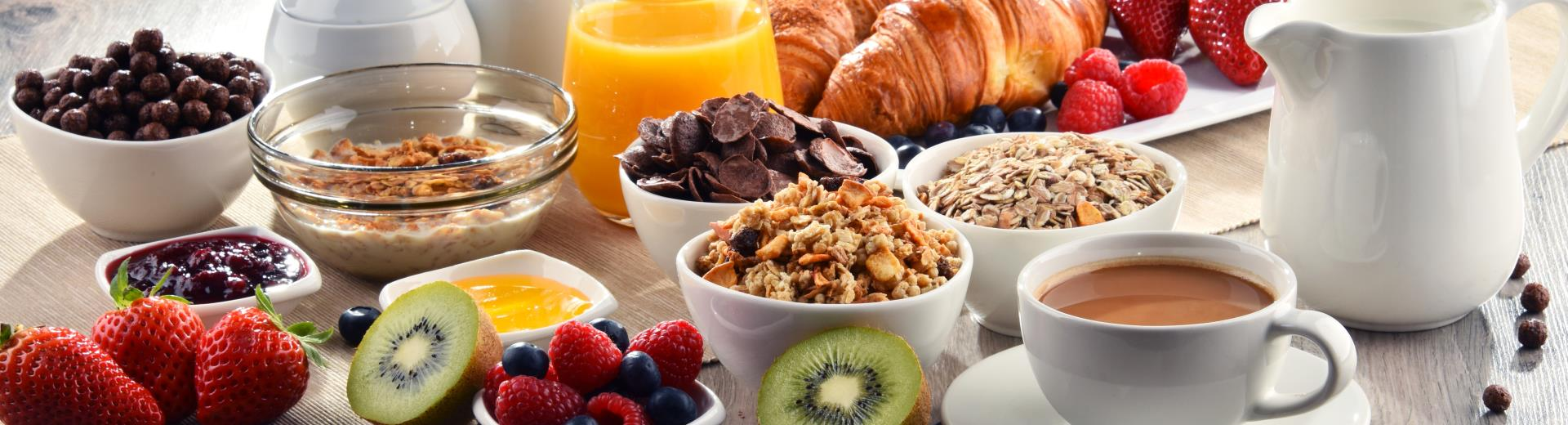 Breakfast is free for Gold, Platinum, Diamond and Diamond Select Best Western Rewards® members!