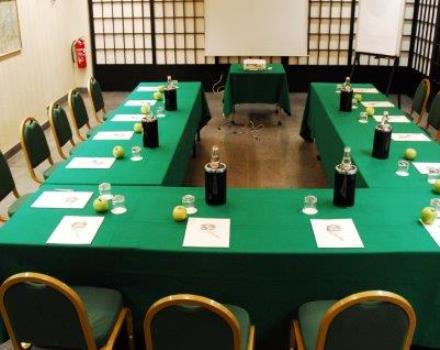 2 meeting room, massimo 50 persone, coffee break, light lunch,