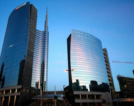 the BW Hotel Astoria is in the center of Milan