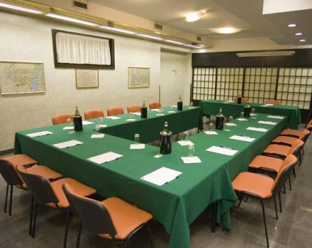 Discover the conference rooms in the Best Western Hotel Astoria and organize your events in Milan